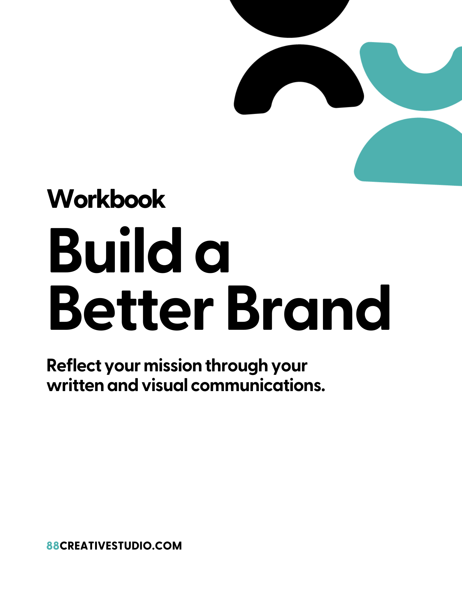Workbook Cover - Build a Better Brand